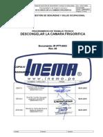 Ip.ptt-0003 Descongelar La Camara Frigorifica