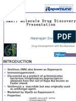 Small Molecule Drug Discovery Presentation
