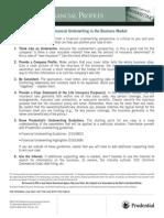 10 Tips - Financial Underwriting