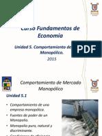 Unidad 5 Fundamentos de Econom a MIB 2015-Sem 1