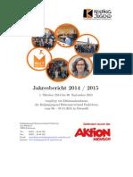 Jahresbericht 2014-2015 der Kolpingjugend DV Paderborn