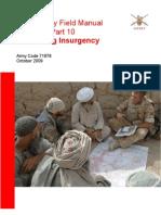 British Army Field Manual - Counterinsurgency 2009