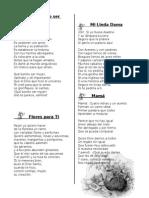 Poesías a La Mujer