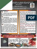 Poster-caz Chirurgie Plastica- Mana