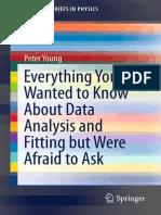 Data Analysis and Fitting