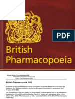 British Pharmacopoeia 2009