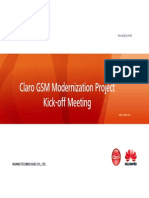 Peru Claro GSM Modernization Project Kick-Off Meeting 20150218 v5