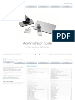 Sx20 Quickset Administrator Guide Tc73