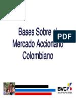 Bases Sobre El Mercado Accionario Colombiano 2010