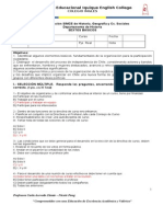 evaluación de avance sexto