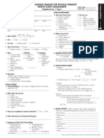 Guide Outpatient Documentation Template