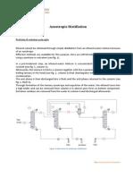 Destilación de azeotropo