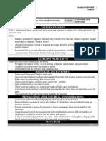 curriculum overview presentation