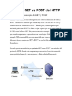 Métodos Get vs Post Del Http