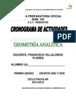 Encuadre de Geometría Analítica