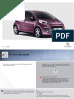 Handbook Peugeot 107