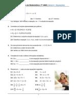 Equações (1)
