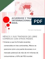 Acuerdos y Tratados Internacionales de ASIA