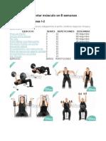 La Rutina Para Aumentar Músculo en 6 Semanas