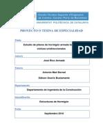 Estudio de Pilares de Hormigon Bajo Cargas Cíclicas Unidireccionales