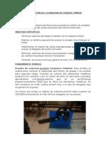 Optimización de La Máquina de Frenos Timken