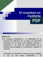 Auditoria - El Muestreo
