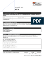 Henley-Henley FT MBA Reference Form April 2012