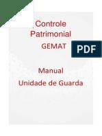 Manual Gemat - Unidade de Guarda