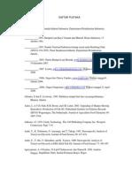 Pengaruh Fortifikasi Minyak Ikan Terhadap Mutu Permen Jelly Rumput Laut Eucheuma Spinosum (Daftar Pustaka)