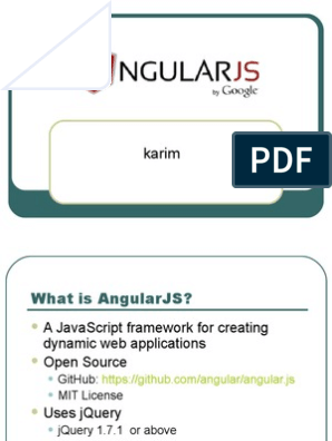 AngularJS ppt | Angular Js | Software Engineering