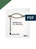 Lucas Feat — Antes que os Jardins