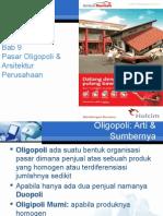BAB 9 Pasar Oligopoli & Arsitektur Perusahaan