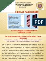 Las Radiaciones Ionizante Avance