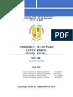 Creación de Un Plan Estratégico Parcial 1 Grupo 4