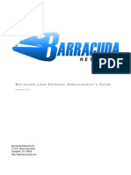 Barracuda Load Balancer Admin Guide
