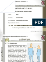 Clases Semana N° 02 de la asignatura de Diseño de Obras Hidraulicas_C22015 FICA CPyM v1.1