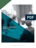 Loan Documentation ELearning
