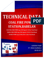 Tech Data 1500 Gpm - For Power Island System Rev.01