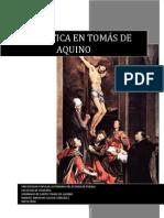 Estética en Tomás de Aquino