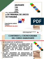 Curso Habilitante del Sistema Penal Acusatorio Panameño