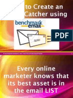 How to Create Email Catcher Using Benchmarkemail