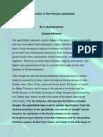 Introduction to the Principal UpaniShads