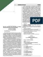 Código Técnico de Construcción Sostenible-DS MVCS