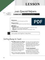 4th Quarter 2015 Lesson 2 Kindergarten Teachers' Guide