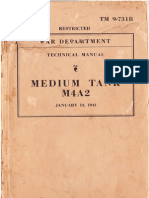 TM 9-731B Medium Tank M4A2 1943