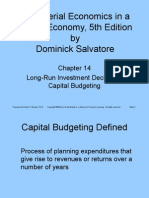 Ch14 Capital Budgeting