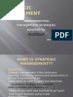 St Management of Accenture