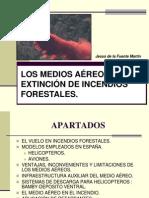 Los medios aéreos en la extinción de incendios forestales