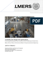 Assembly Line Design and Optimization