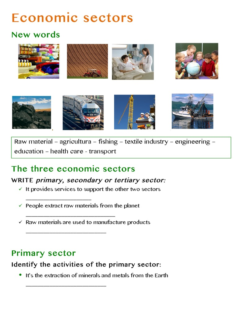 sectors of economy Los angeles: economy major industries and commercial activity california has always been known as an incubator of new ideas, new products and entrepreneurial spirit.